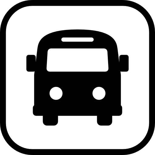 bus logo map mark